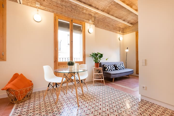 STYLISH STUDIO NEXT TO LA BARCELONETA