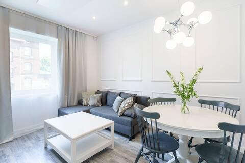 Apartament BIANCO w sercu Śląska