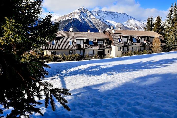 Chez Ninette, direttamente sulle piste da sci.