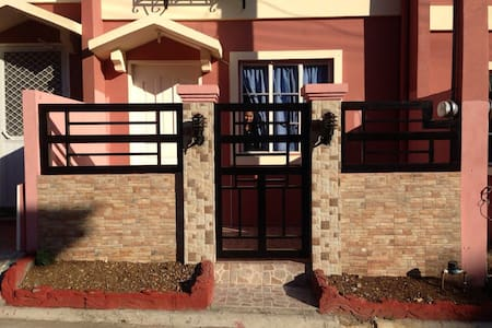 Cute modern townhome fully furnished. - Davao City - House - 1