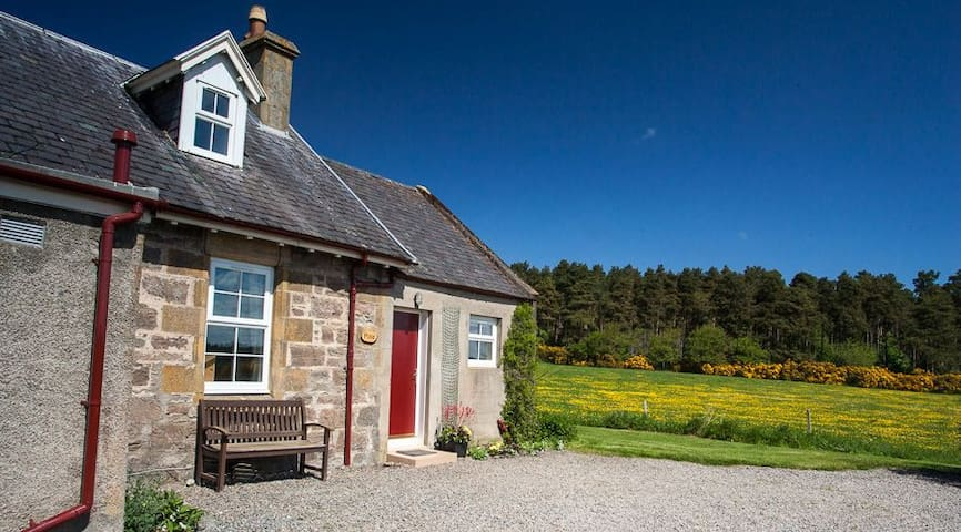 Pine Cottage, set in idyllic Highlands countryside - Inverness
