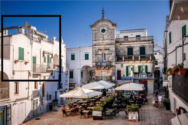 Cisternino Rooftop Apartment - Town Square - Cisternino - Apartamento