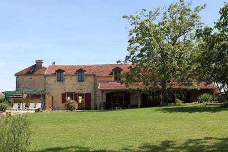 New - Beautifully restored 18th century farmhouse - Saint-Laurent-des-Bâtons - Casa
