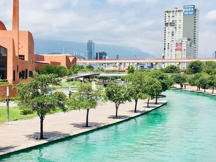 4-10 Downtown Apartment, Fundidora and SantaLucía#