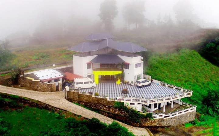 Calm,Peace, Happiness....Vagamon Courtyard