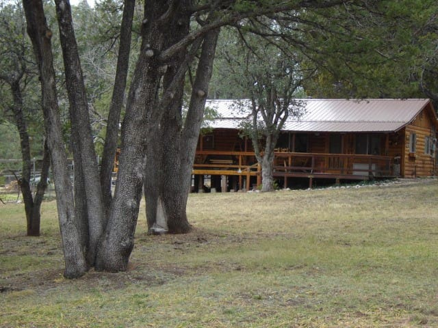 Relaxing cabin retreat, sleeps 8, approved pets ok - Payson - Cabane