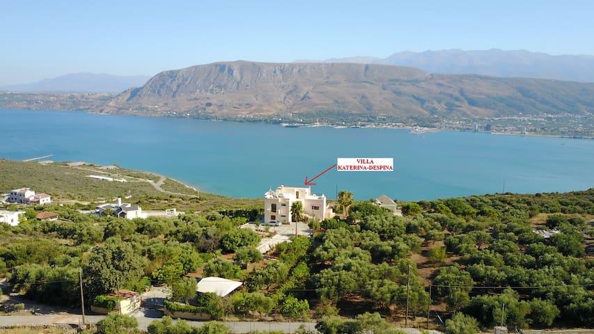 Villa Katerina-Despina  4bd,3ba,endless sea view
