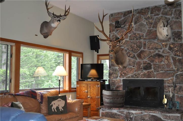 Stock House - 5BR Home + Private Hot Tub - Teton Village - House