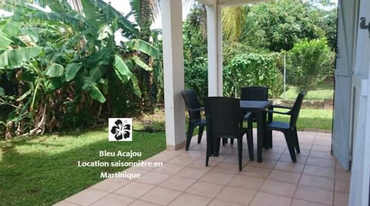 Bleu Acajou, a charming 2BR flat in the greenery