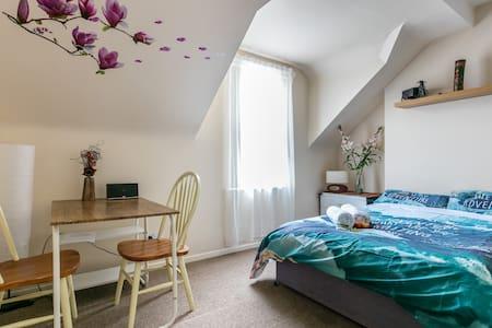 Roomy double bedroom, QUB near Centre, Belfast. - Belfast - Huis