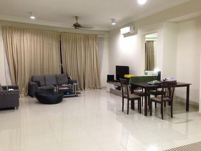 500M TO KL SENTRAL +FREE WIFI - Kuala Lumpur - Apartament