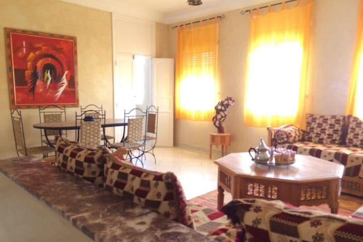 """Villa proche de la mer """" lieu dit 3 éme Piscine """" - Moulay Bousselham - Appartement"""