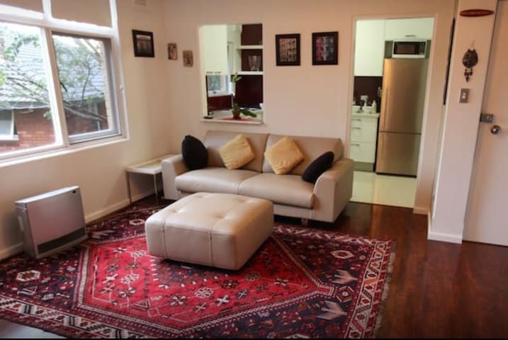 Lounge Room - A fully renovated and modern apartment