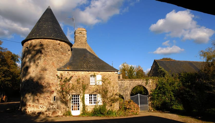 The Farmhouse cottage at the Château de Flottemanville - Flottemanville - Talo