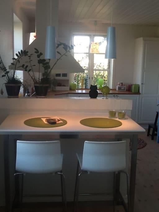 Køkken/spiseplads