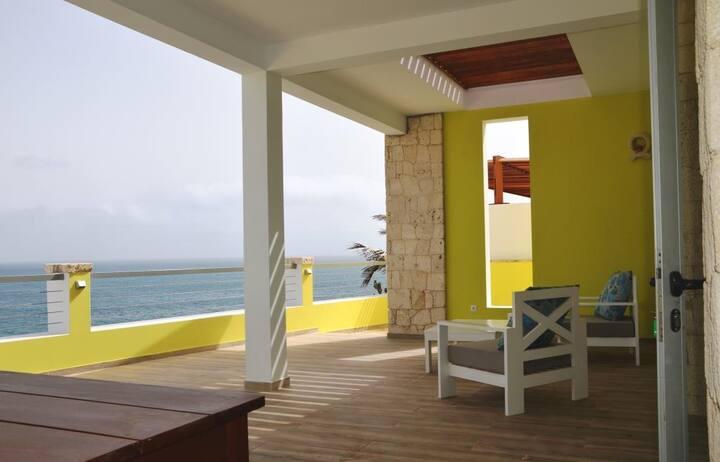 Superbe villa vue panoramique île de Maio Cap vert