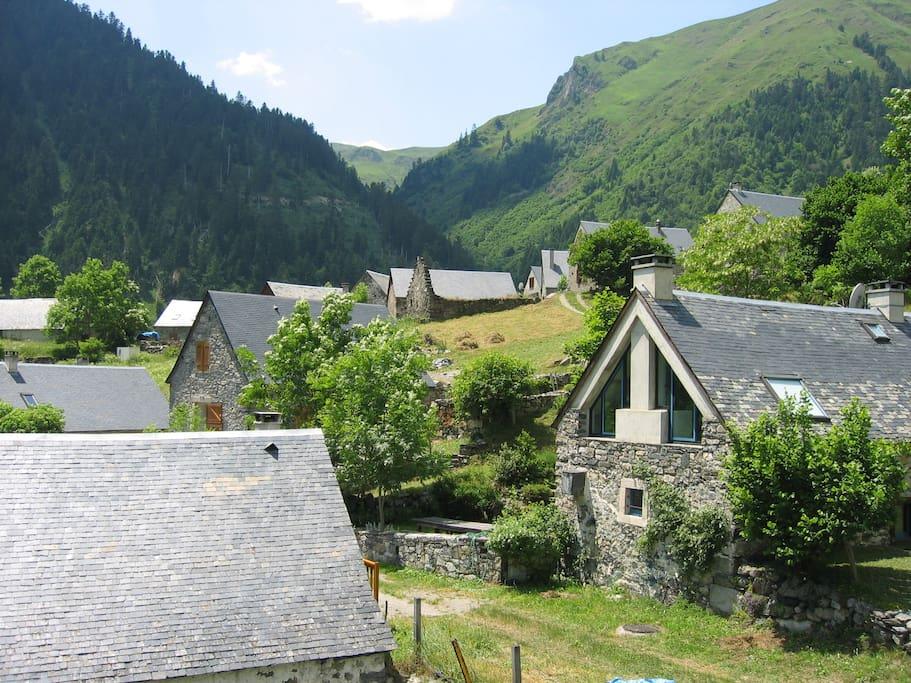 Le hameau de Lurgues