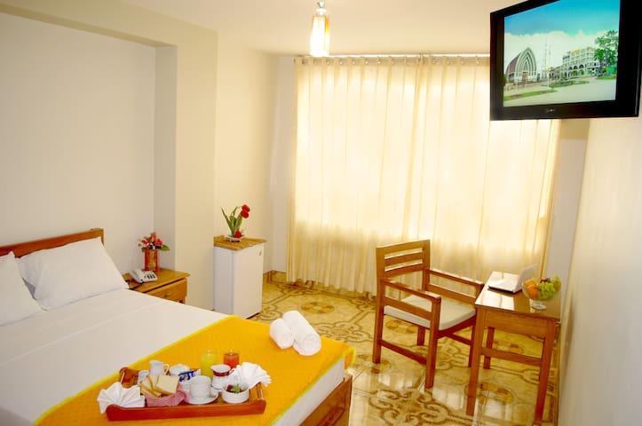 Individual con Ventilador DEL CASTILLO PLAZA HOTEL