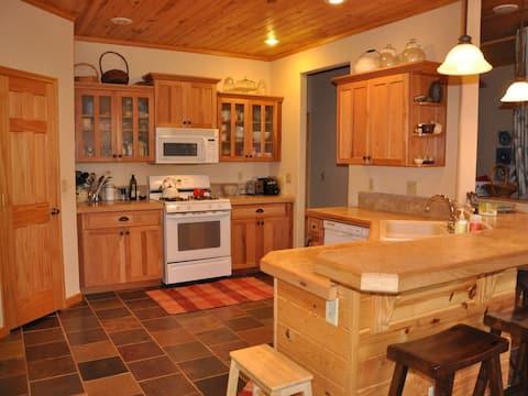Kimball Lake Home, one level, year-round fun!