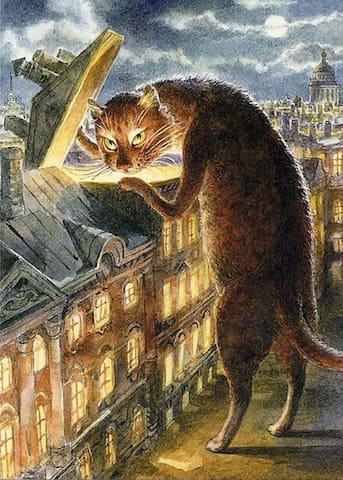 Студия Бродячий кот - Pushkin - Apartment