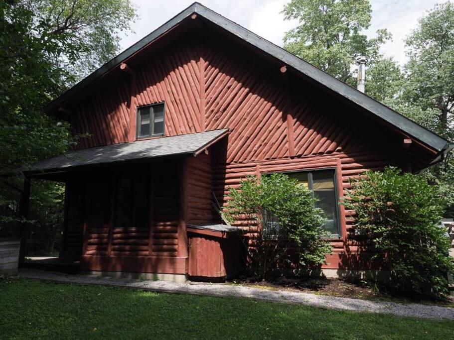 Log House Exterior 3
