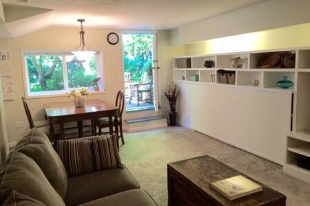 LOVELY LYNN VALLEY! 1 bdrm suite near hiking/sking - North Vancouver - Talo