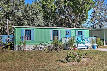 2BR Weeki Wachee House w/Meditation Garden! - Weeki Wachee