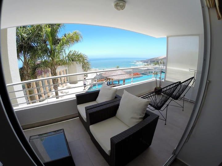 Reñaca - Viña del Mar Incredible Ocean View