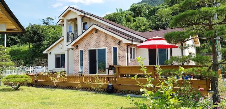 ⭐별이랑달이랑🌙 마당넓은 2층집 독채 전원주택