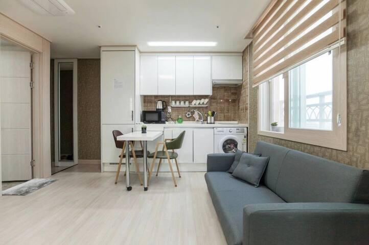 【逅客】济州新葡京2号 两居室