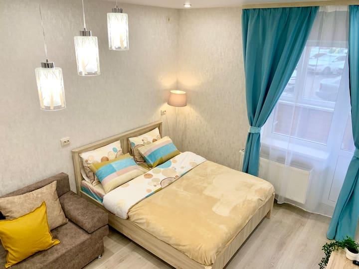 Уютная квартира-студия, с отличным расположением