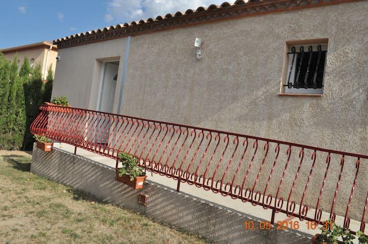 Appartement indépendant 62 m2 dans villa - Le Boulou - Leilighet