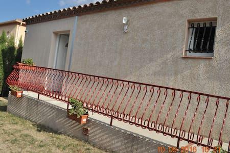 Appartement indépendant 62 m2 dans villa - Le Boulou