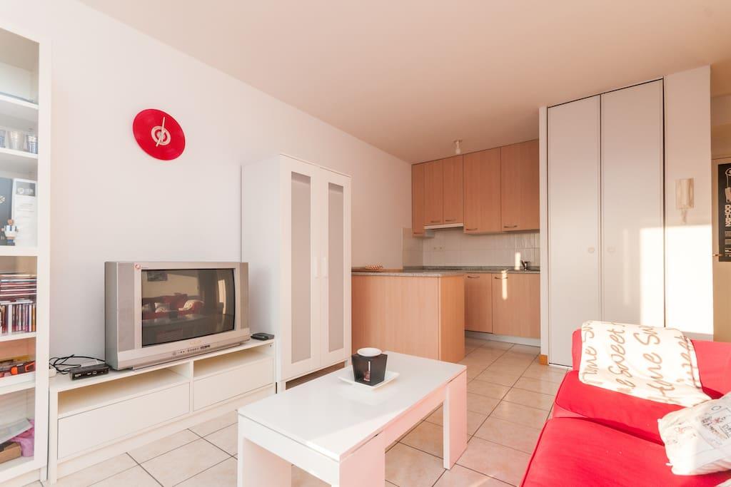 Apartamento para parejas en hendaya apartamentos en for Alojamiento estancia 30m2