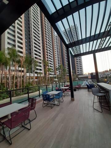 Apartamento em Resort