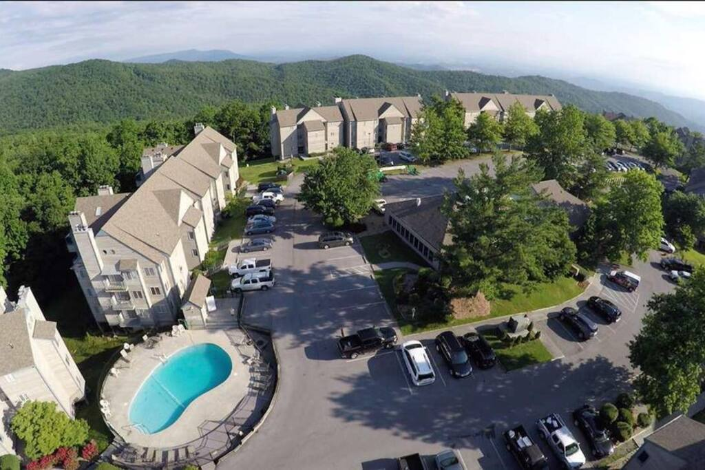 Condo is located in this mountain top condominium complex on Ski View Dr.