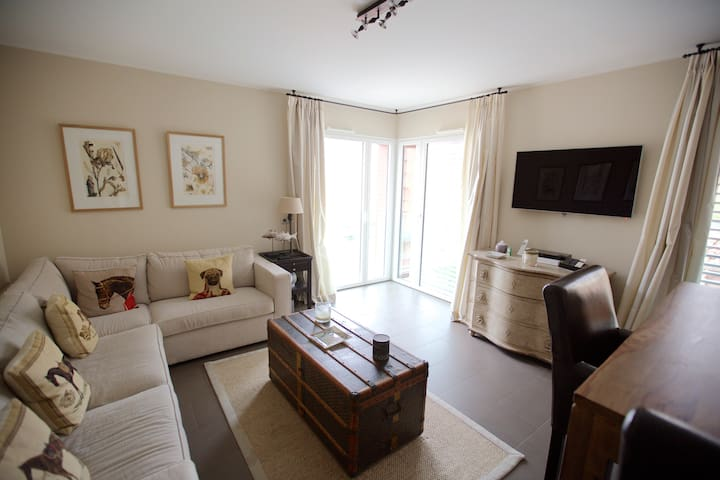 Spacious 1bed apartment 5min walk from Monaco
