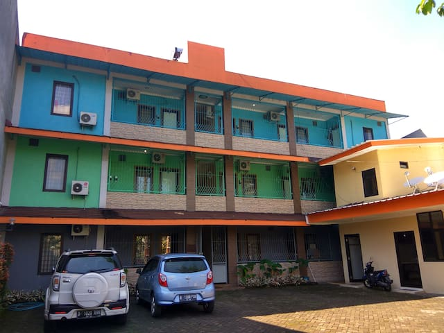 Graha Hermawan Guest House in the Mid of Bandung.