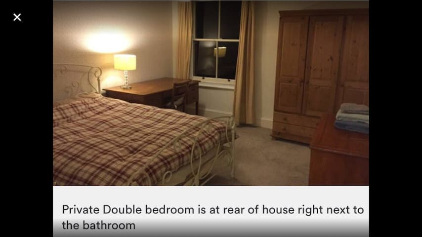 Double bedroom, central Rugby - Rugby - House