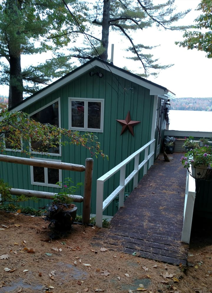 Bev's Lake house.