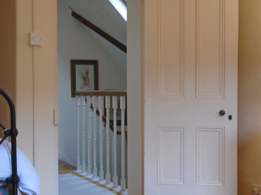 Staircase to Dingle double bedroom