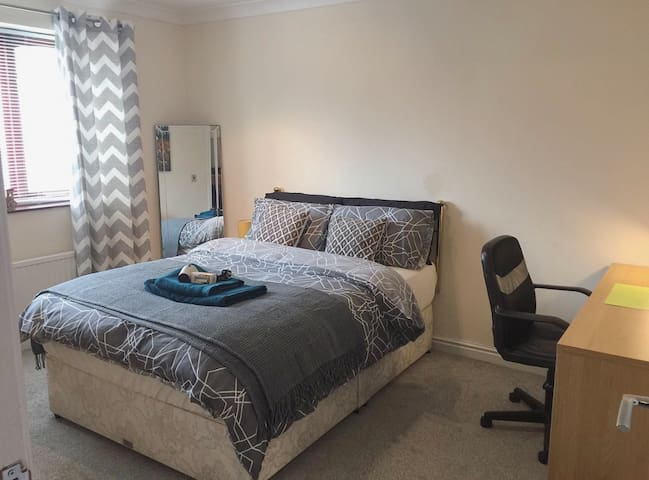 Luxury Double Room near Yorkshire Wildlife Park