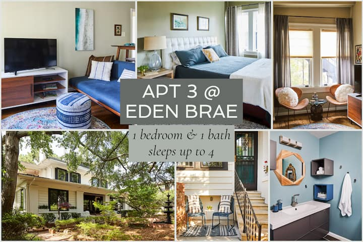 Apt3@EdenBrae-Tranquil, Walkable, Pet-Friendly, Best Retreat in Bham