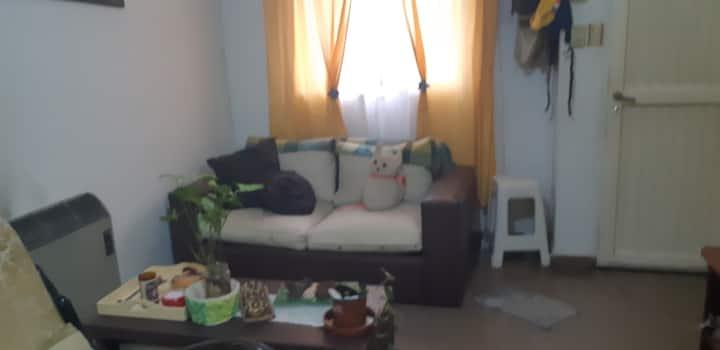 Habitación privada tranquila y cómoda.
