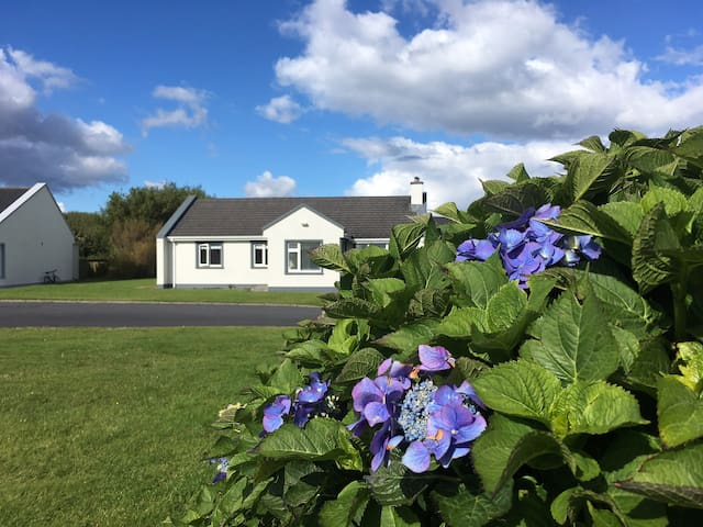 Galway holiday cottage, views across Galway Bay