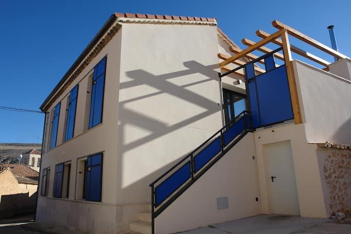 Casa con jacuzzi para 2 al lado de Peñafiel