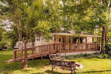 Beautiful cabin close to creek - Lehighton - Cabaña