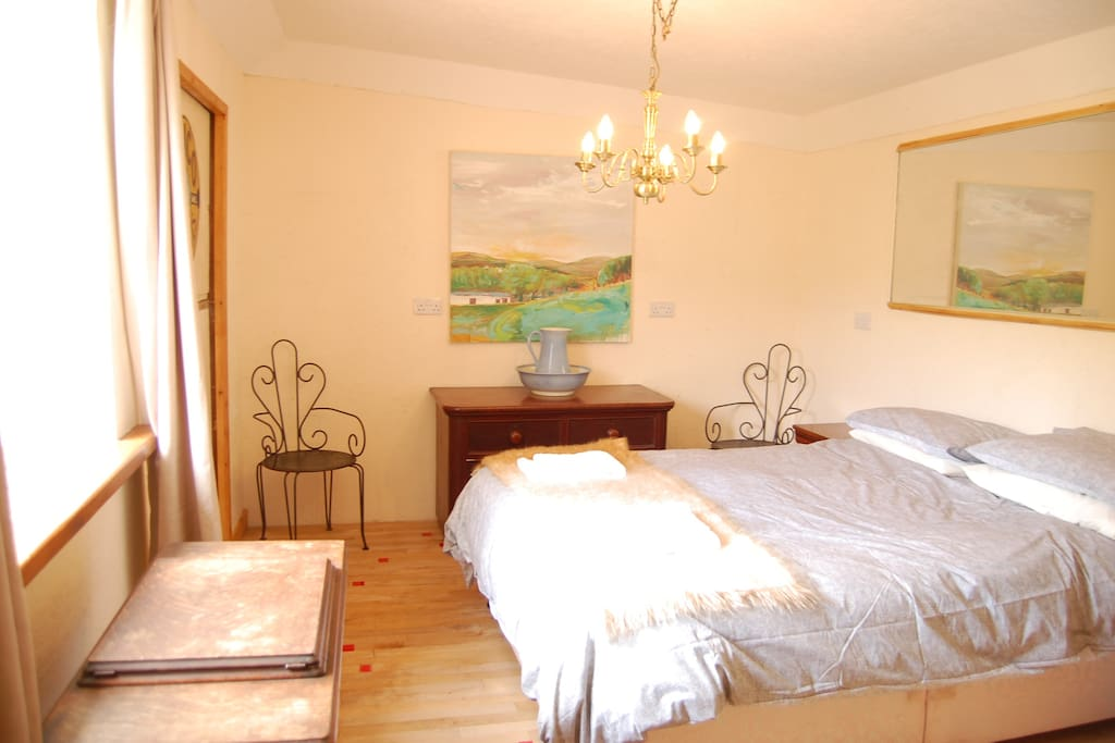 The top end bedroom with disabled access