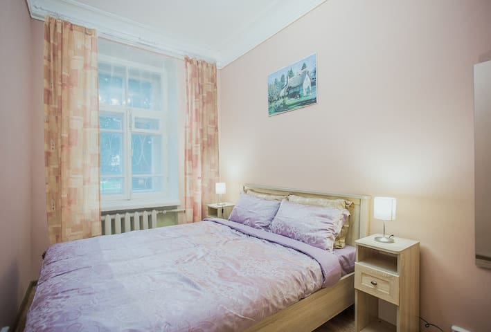 Wonderful cozy room for 2 in the center of Moscow