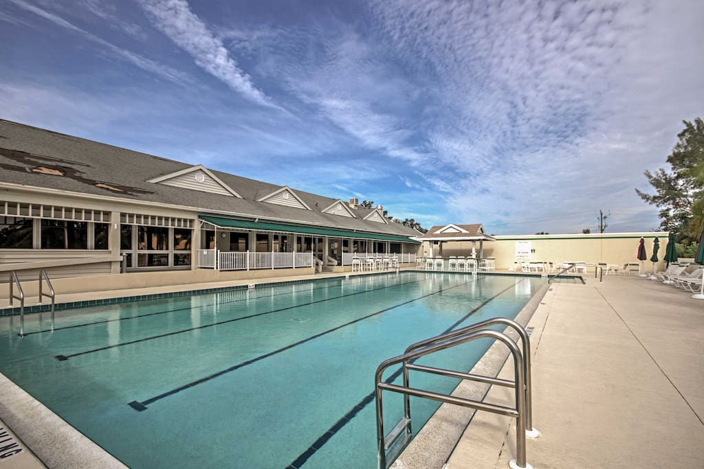 The condo is located in the Cedars East community, which has a refreshing pool!